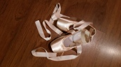 Ocean Breeze's First Pointe Shoes