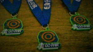 GO FAR Medals
